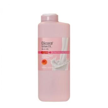 ボディミルク シトラス&ピーチ 400ml 大容量 Dicora ディコラ いい香り 高保湿 スペイン発 (ボディローション)