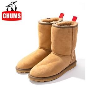 CHUMS チャムス Booby Mouton Boots・Caramel ブービームートンブーツ CH63-1009 【アウトドア/ムートン/ブーツ】