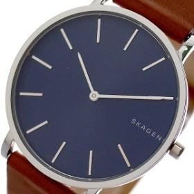 fe93de1800e86d スカーゲン 腕時計 メンズ SKAGEN 時計 ネイビー ブラウン 人気 北欧 ブランド 男性 ギフト プレゼント
