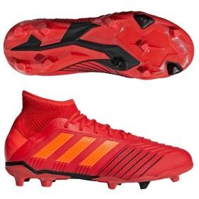 ジュニア プレデター 19.1 FG/AG J アクティブレッドS19×ソーラーレッド 【adidas|アディダス】サッカージュニアスパイクcm852