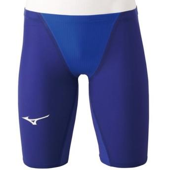 MIZUNO SHOP [ミズノ公式オンラインショップ] 競泳用GX・SONIC IV ST ハーフスパッツ[メンズ] 27 ブルー N2MB9001