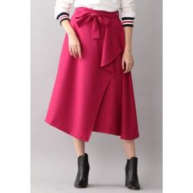 LOVELESS 【LOVELESS】アシンメトリーミモレスカート その他 スカート,ピンク
