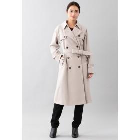 SANYO COAT <Rain Wool>ウールカシミヤダブルトレンチコート トレンチコート,オフホワイト