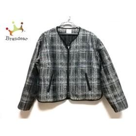 カーラ Cara ジャケット レディース 美品 黒×白            値下げ 20191005