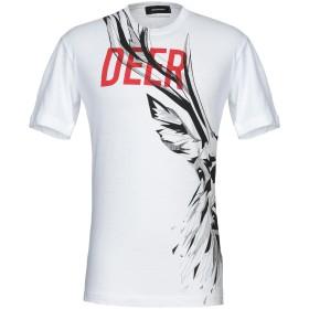 《期間限定セール開催中!》DSQUARED2 メンズ T シャツ ホワイト XS コットン 100%