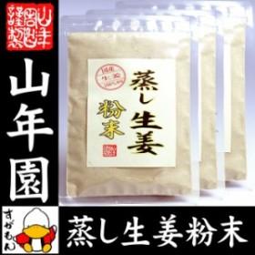 【国産 無添加 100%】【30分間蒸した生姜のみ使用】蒸し生姜 粉末 45g×3袋セット 熊本県産 送料無料 蒸ししょうが 送料無料 お茶 ギフト