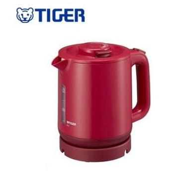 タイガー魔法瓶 蒸気レス電気ケトル わく子 1.0L PCJ-A101 R レッド