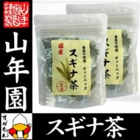 【国産 100%】スギナ茶 ティーパック 1.5g×20パック×2袋セット 無農薬 ノンカフェイン 宮崎県産 送料無料 ティーバッグ すぎな茶 健康