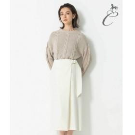 自由区 / ジユウク 【Class Lounge】LUXURY WOOL スカート
