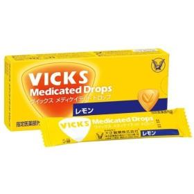 大正製薬 ヴイックスドロップ レモン 20粒/ ヴイックスドロップ 風邪薬 トローチ・のど飴