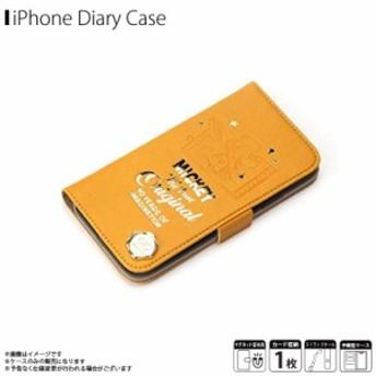 iPhone XS iPhone X 手帳型ケース PG-DFP544M9O【5446】 iJacket ディズニー カード収納 90周年 ミッキーマウス オレンジ PGA