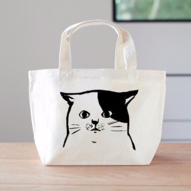 猫 ミニバッグ ランチバッグ ねこちゃん