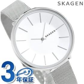 スカーゲン レディース 時計 メッシュベルト ホワイト SKW2687 SKAGEN 腕時計 カロリーナ