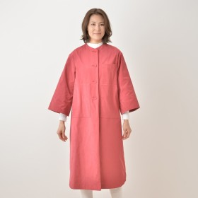 AUR シャツ風ロングコート