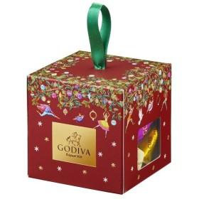 クリスマス お菓子 詰め合わせ ゴディバ G キューブ クリスマス オーナメント ボックス