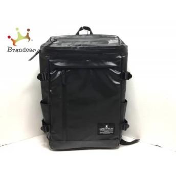 マキャベリック MAKAVELIC リュックサック 黒 PVC(塩化ビニール) スペシャル特価 20190828【人気】