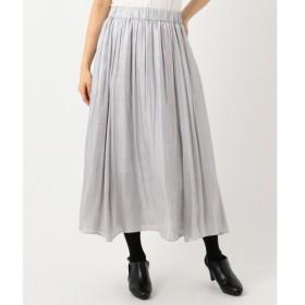 S size ONWARD(小さいサイズ) / エスサイズオンワード 【MORE12月号掲載】ブライトオーガンジー スカート