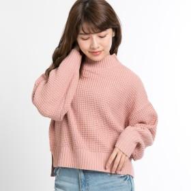 ニット・セーター - WEGO【WOMEN】 ワッフルハイネックニット BS18WN10-L002