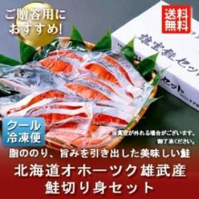 「送料無料 北海道 鮭 ギフト」 北海道 鮭 切り身 1.2kg 価格 6800 円 シャケ 鮭
