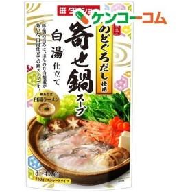 ダイショー 鮮魚亭 寄せ鍋スープ 白湯仕立て ( 750g )