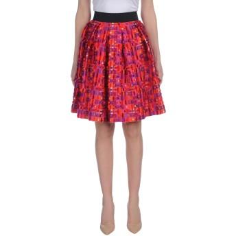 《セール開催中》DOLCE & GABBANA レディース ひざ丈スカート フューシャ 36 ポリエステル 72% / シルク 28%