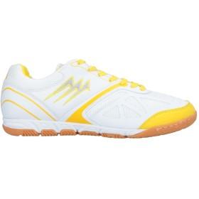 《期間限定セール開催中!》AGLA メンズ スニーカー&テニスシューズ(ローカット) ホワイト 42 紡績繊維 / 指定外繊維