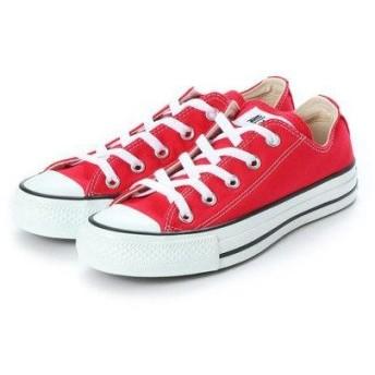 コンバース CONVERSE CANVAS ALL STAR OX RED (RED)