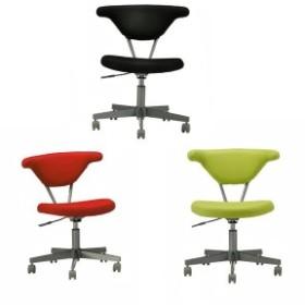 学習椅子 パソコンチェア メッシュ おしゃれ デスクチェア キャスター付き デザインチェア 赤 北欧 BINA