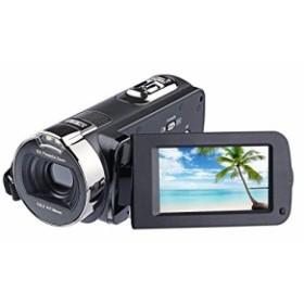 PowerLead 2.7インチ液晶画面デジタルビデオカメラ24MPデジタルカメラ