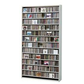 CDラック DVDラック 大容量 CD 収納 ホワイト 白 CD最大1284枚収納 CDストッカー 大型