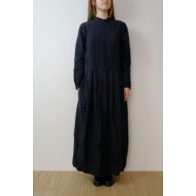the last flower of the afternoon | かげとひかりのclassic one-piece (navy) | ワンピース | Mサイズ【ザラスト