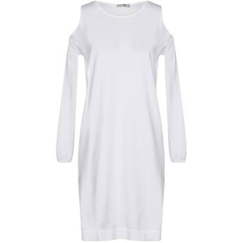 《セール開催中》SHE WISE レディース ミニワンピース&ドレス ホワイト 42 コットン 100%