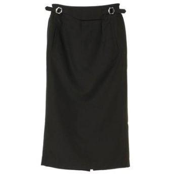 グリーンパークス Green Parks LHELBIE タイトグルカスカート (Black)