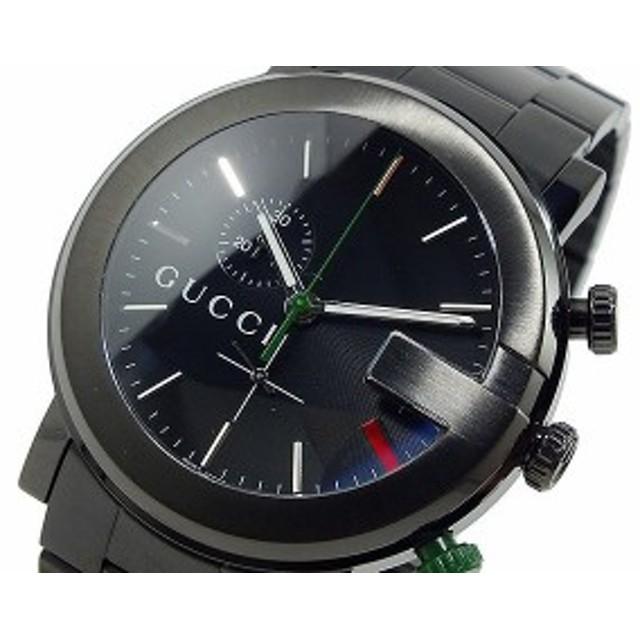 brand new e994b 07b09 グッチ 腕時計 メンズ GUCCI 時計 Gクロノ クロノグラフ ...