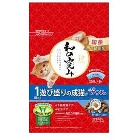 Nisshin/日清ペットフード  JPスタイル 和の究み 1歳から 遊び盛りの成猫用 2kg