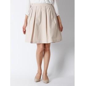 CLEAR IMPRESSION / クリアインプレッション タックボリュームスカート
