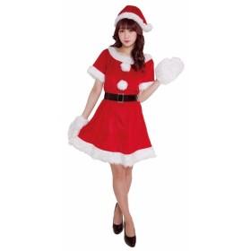 クリスマス コスプレ キャンディ サンタ クリアストーン コスチューム 衣装 レディース