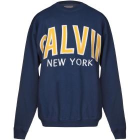 《期間限定 セール開催中》CALVIN KLEIN JEANS メンズ スウェットシャツ ブルー XS コットン 80% / ポリエステル 20%