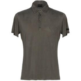 《セール開催中》RRD メンズ ポロシャツ グレー 46 キュプラ 90% / ポリウレタン 10%