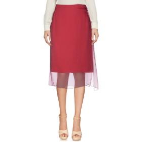 《セール開催中》DRIES VAN NOTEN レディース ひざ丈スカート フューシャ 36 シルク 100%