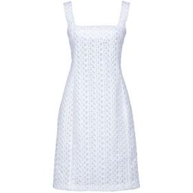 《セール開催中》CELINE レディース ミニワンピース&ドレス ホワイト 36 ポリエステル 95% / ポリプロピレン 5% / ラミー