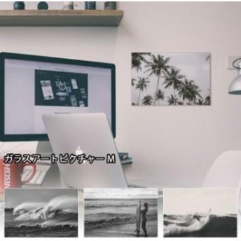 アート 壁飾り インテリア フォト ガラスアートピクチャー Mサイズ ピクチャーフレーム 壁掛け アートフレーム 雑貨