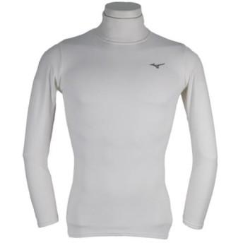 MIZUNO SHOP [ミズノ公式オンラインショップ] ブレスサーモ バイオギアインナーシャツ/長袖[メンズ] 01 ホワイト 32JA8U50