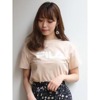 [MERCURYDUO]【FILA MERCURYDUO別注】ロゴTシャツ