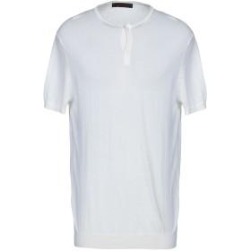 《期間限定セール開催中!》JEORDIE'S メンズ プルオーバー ホワイト 3XL コットン 100%