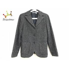ニジュウサンク 23区 ジャケット サイズ38 M レディース 黒×ベージュ                スペシャル特価 20190815
