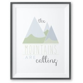 TOODLES NOODLES | THE MOUNTAINS ARE CALLING | A4 アートプリント/ポスター