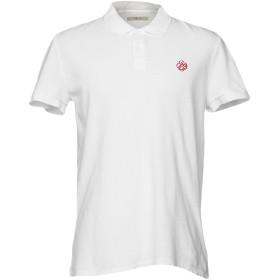 《送料無料》GAUD メンズ ポロシャツ ホワイト XL コットン 100%