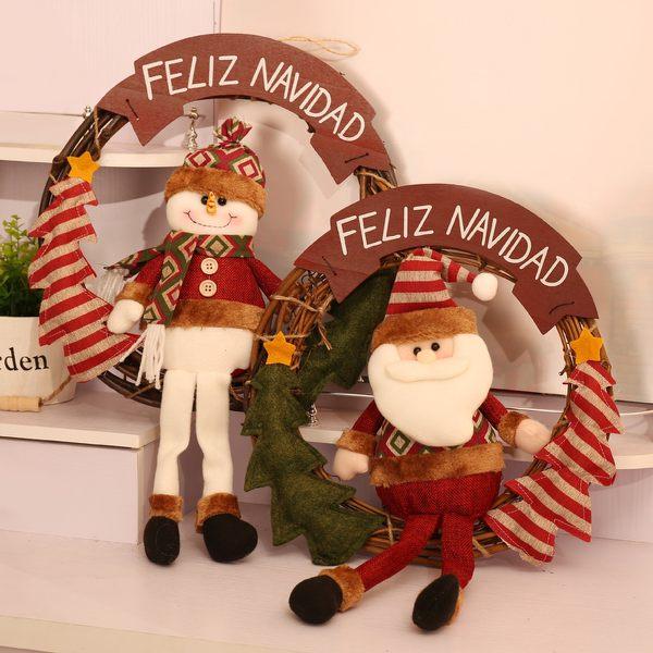 聖誕禮品114 聖誕樹裝飾品 禮品派對 聖誕裝飾花環