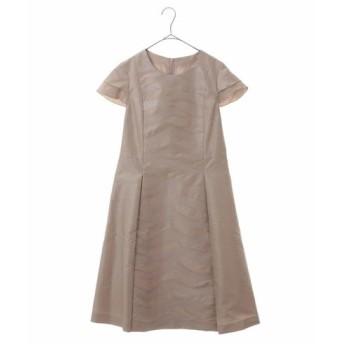 HIROKO BIS GRANDE / ラメカットジャカードドレス